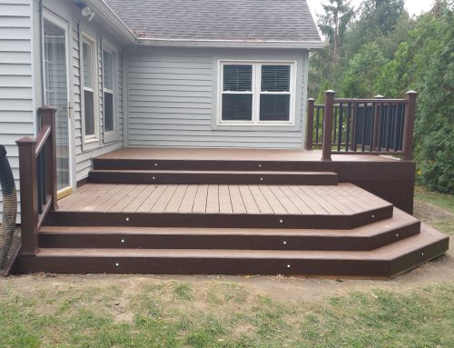 Grey House Deck